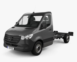 Mercedes-Benz Sprinter (W907) Single Cab Chassis L2 2019 3D model