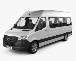 Mercedes-Benz Sprinter Passenger Van L3H2 2019 3D model