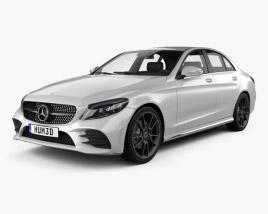 Mercedes-Benz C-Class AMG-line sedan 2018 3D model