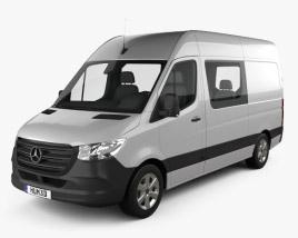 Mercedes-Benz Sprinter Crew Van L2H2 2019 3D model