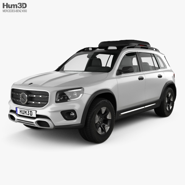 Mercedes-Benz GLB-class 2019 3D Model