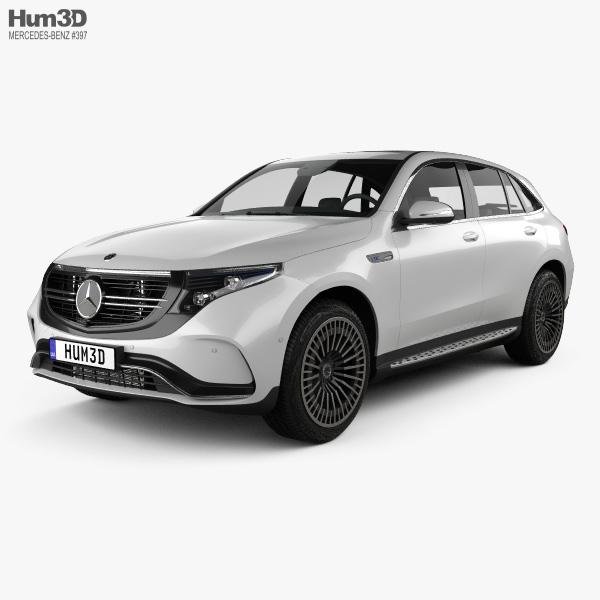 Mercedes-Benz EQC 2020 3D Model