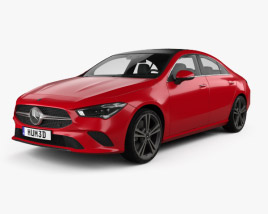Mercedes-Benz CLA-class 2019 3D model