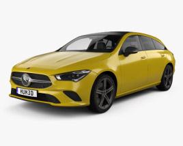 Mercedes-Benz CLA-class Shooting Brake 2019 3D model