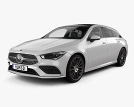 Mercedes-Benz CLA-class Shooting Brake AMG-Line 2019 3D model