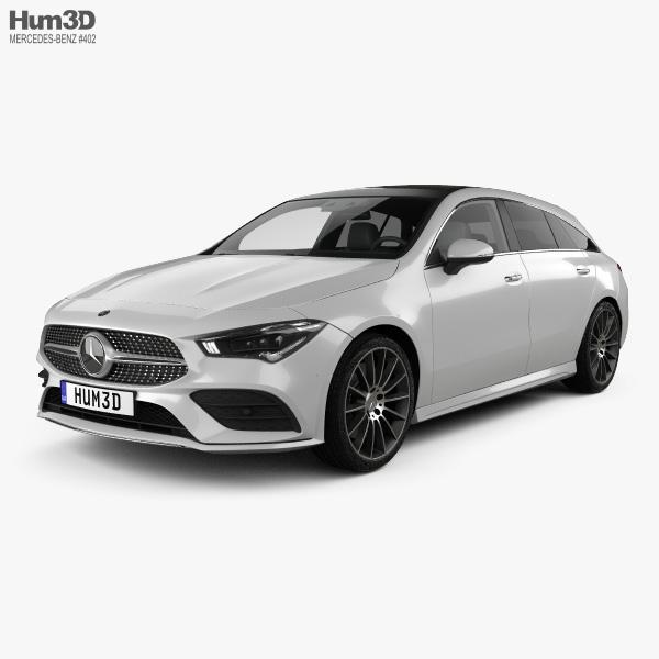Mercedes-Benz CLA-class Shooting Brake AMG-Line 2019 3D