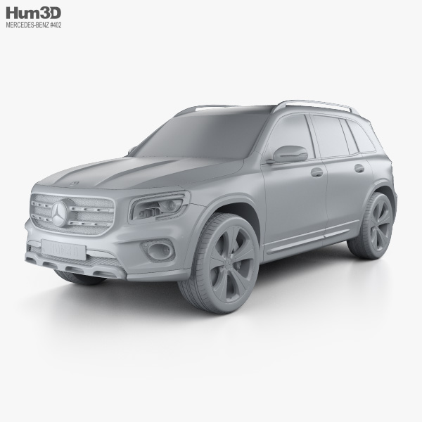 Mercedes-Benz GLB-class Edition 1 2019 3D model