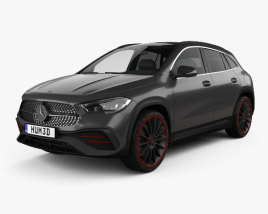 Mercedes-Benz GLA-class AMG-Line Edition 1 2020 3D model