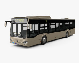 Mercedes-Benz Citaro 2 (O530) Turen Bus 2011 3D model