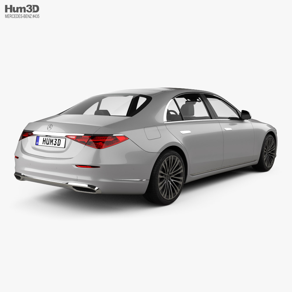 Mercedes-Benz S-Class (V223) LWB  2021 3d model