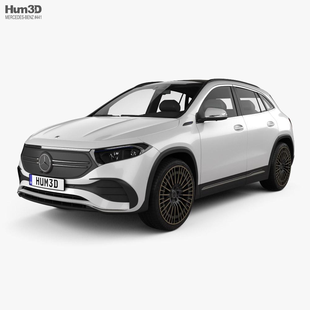 Mercedes-Benz EQA AMG-Line Edition 1 2021 3d model