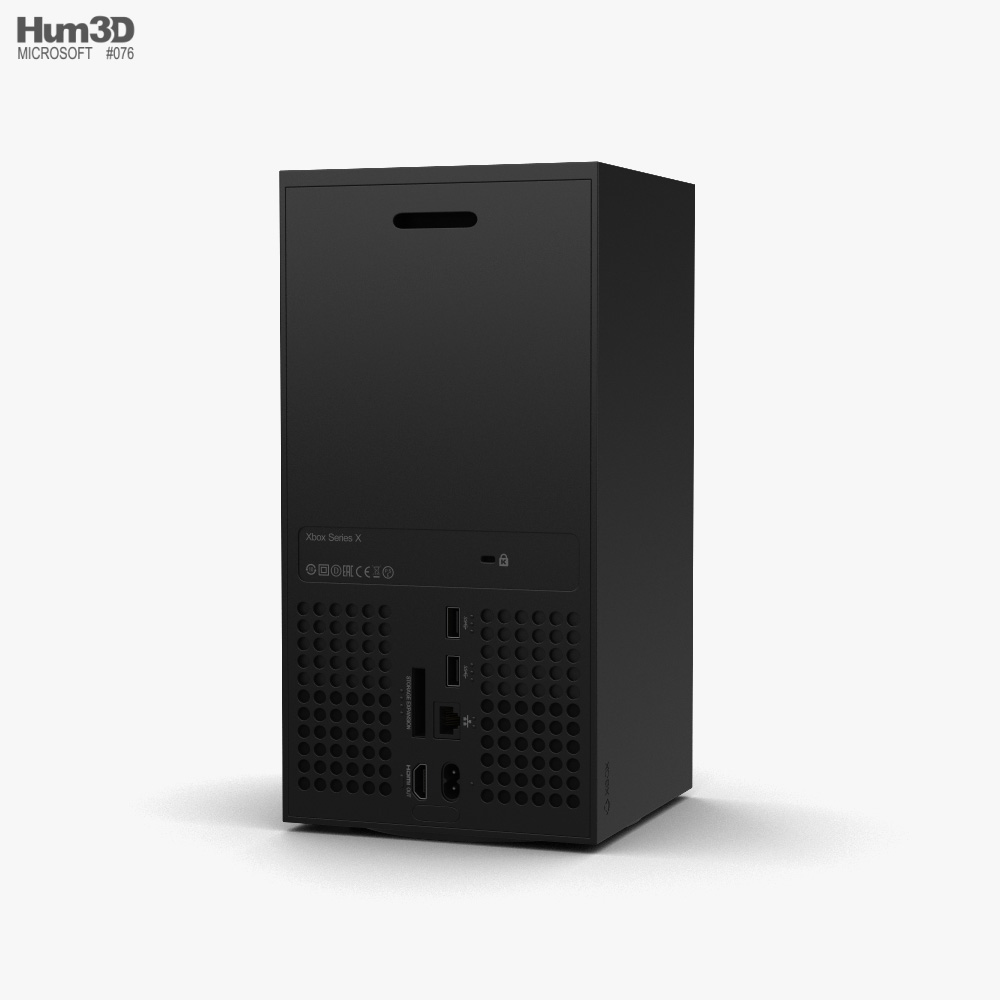 Microsoft Xbox Series X 3d model