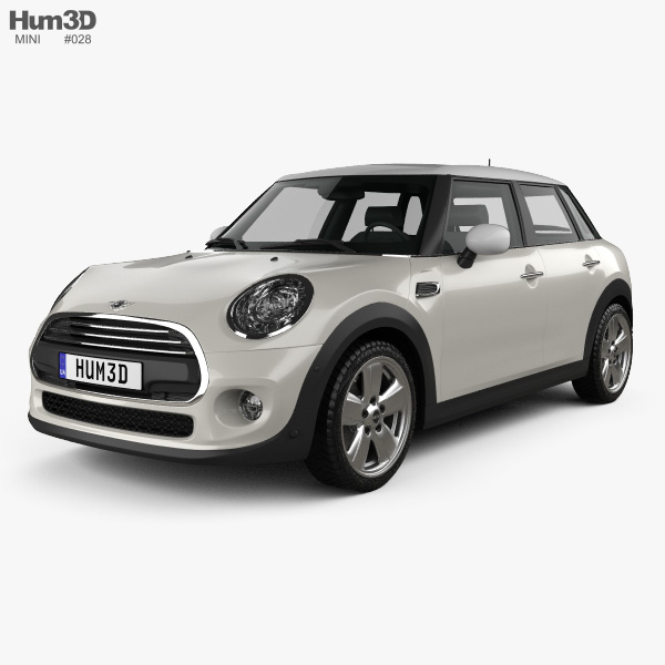 Mini Cooper 5 Door 2014 3d Model Vehicles On Hum3d