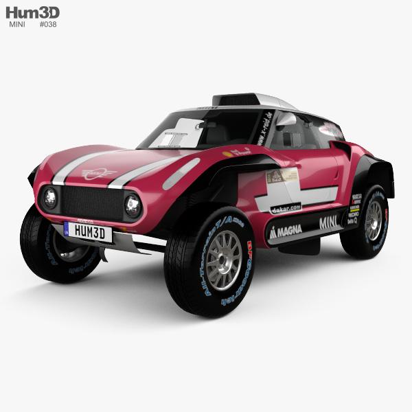 mini john cooper works buggy 2018 3d model hum3d. Black Bedroom Furniture Sets. Home Design Ideas
