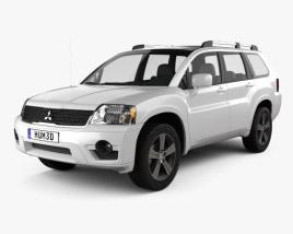 Mitsubishi Endeavor 2012 3D model