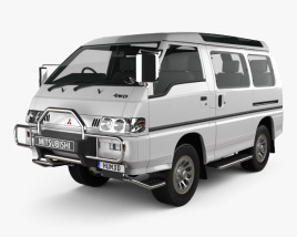 Mitsubishi Delica Star Wagon 4WD 1986 3D model
