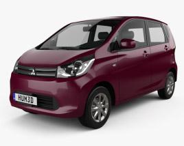 Mitsubishi eK Wagon 2013 3D model