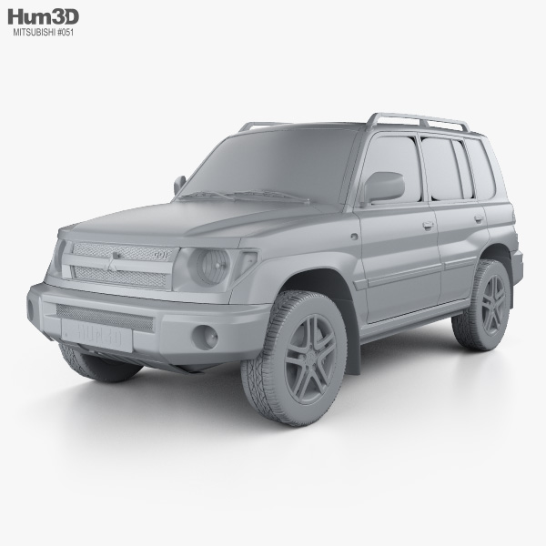 Mitsubishi Pajero Pinin (iO) 1998 3D model