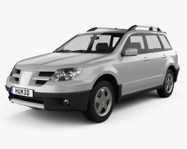 Mitsubishi Outlander 2003 3D model