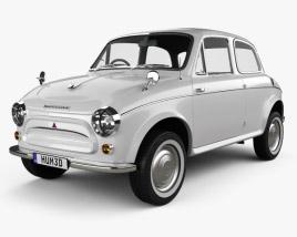 Mitsubishi 500 1960 3D model