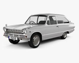 Mitsubishi Colt 1000F 3-door 1966 3D model
