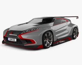 Mitsubishi XR-PHEV Evolution Vision Gran Turismo 2016 3D model