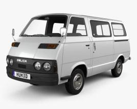 Mitsubishi Delica Coach 1974 3D model