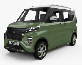 Mitsubishi Super Height K-Wagon 2019 3D model