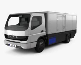 Mitsubishi Fuso Vision F-Cell Truck 2019 3D model