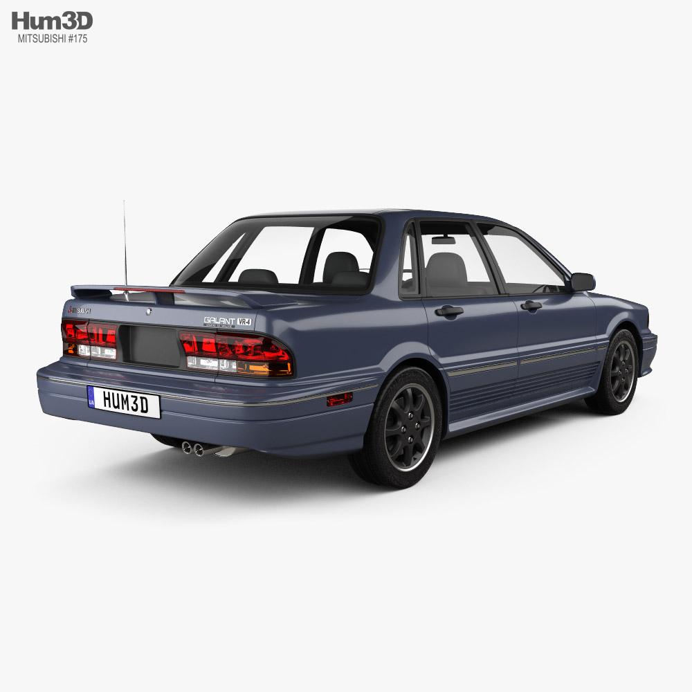 Mitsubishi Galant VR-4 1989 3d model