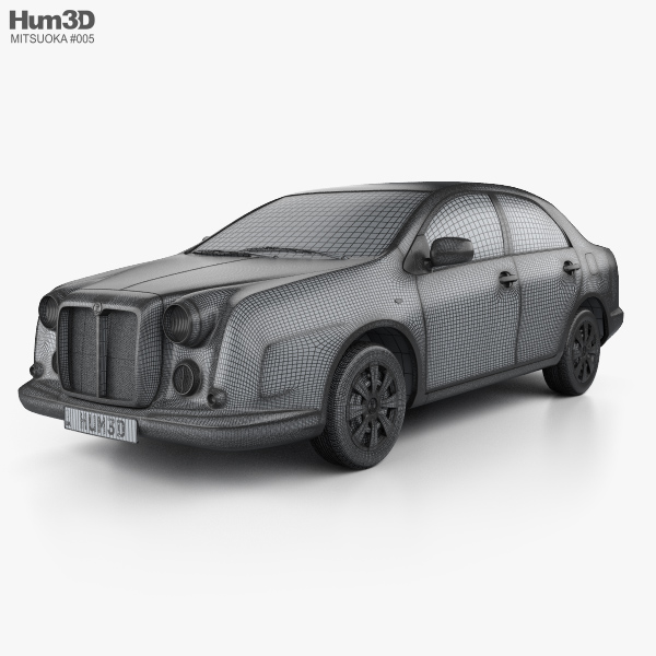 Mitsuoka Galue 204 2010 3d Model Hum3d