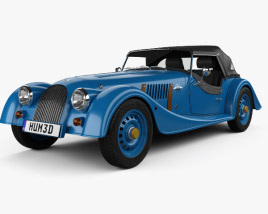 Morgan 4/4 80th Anniversary 2016 3D model