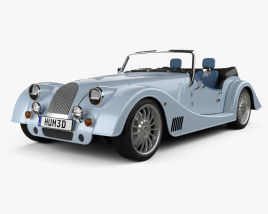 Morgan Plus Six 2020 3D model