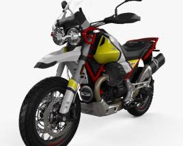 Moto Guzzi V85 Tutto Terreno 2019 3D model