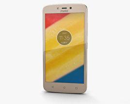 Motorola Moto C Plus Fine Gold 3D model