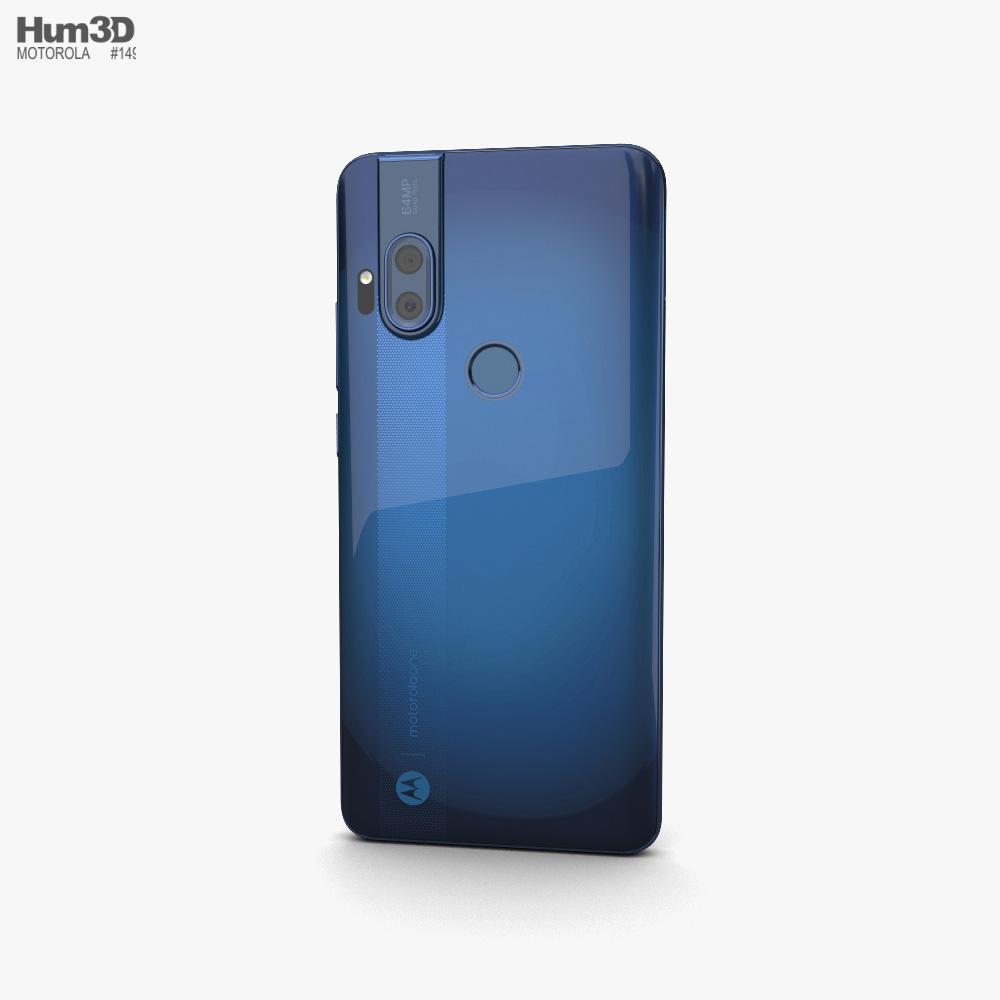 Motorola One Hyper Deepsea Blue 3d model