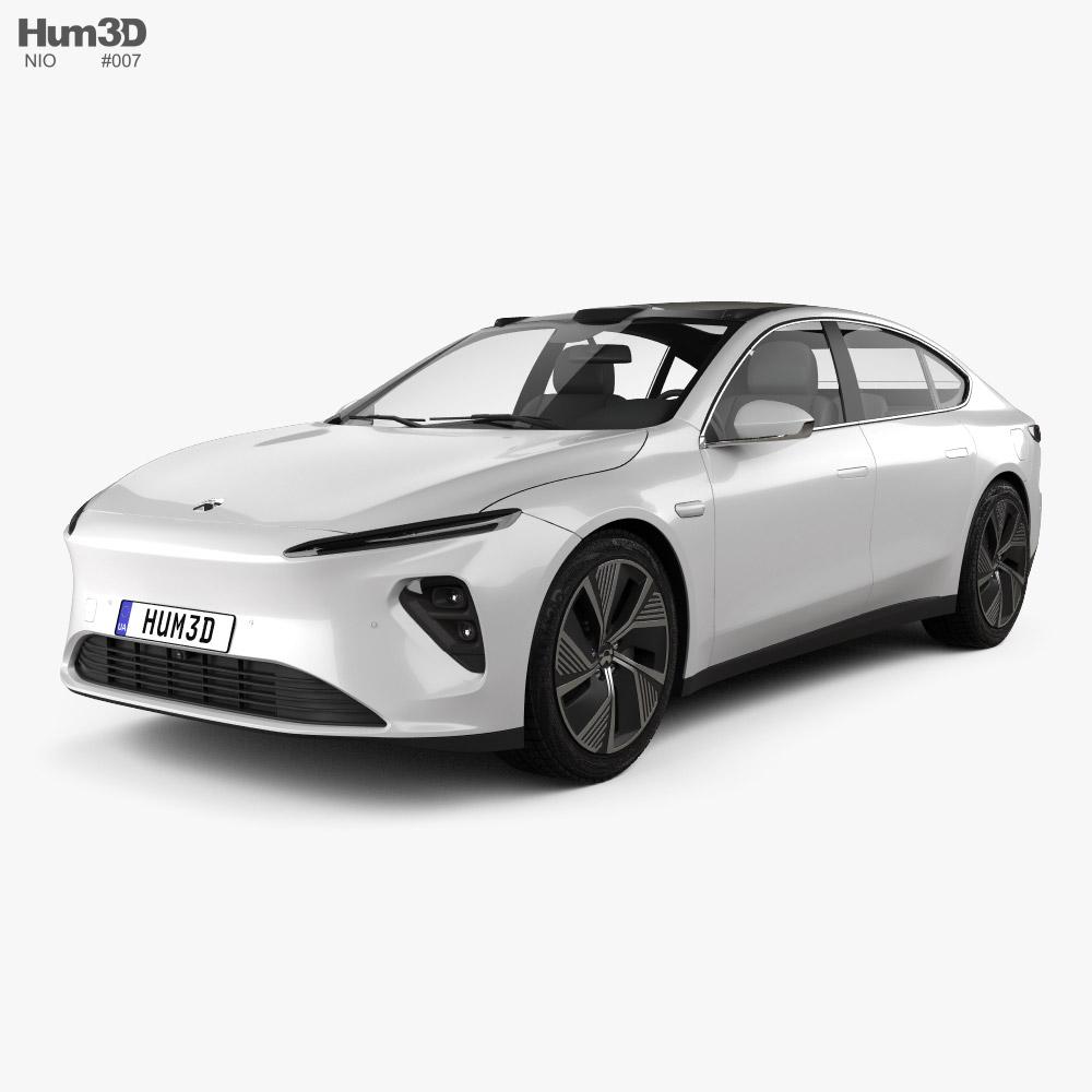 NIO ET7 2022 3d model