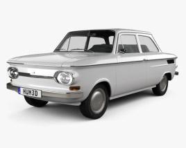 NSU Prinz 1000 1961 3D model