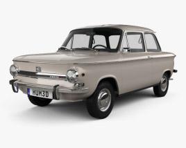 NSU Prinz 4 1961 3D model