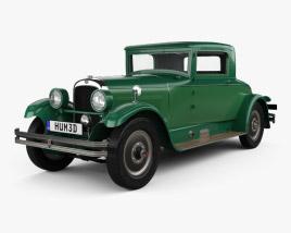 Nash Advanced Six 260 coupe 1927 3D model