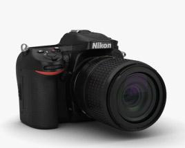 Nikon D7100 3D model