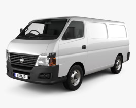 Nissan Urvan Panel Van Low Roof 2011 3D model