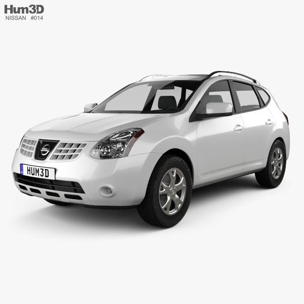 Nissan Rogue 2011 3D Model