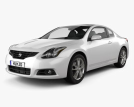 Nissan Altima coupe 2012 3D model