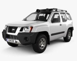 Nissan Xterra 2012 3D model