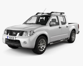 Nissan Navara (D40) Double Cab 2010 3D model
