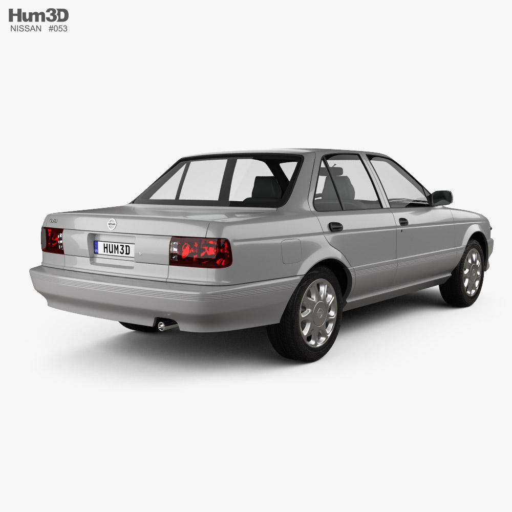 Nissan Tsuru 2004 3d model