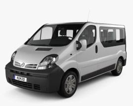 Nissan Primastar Passenger Van 2002 3D model