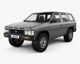 Nissan Terrano (Pathfinder) 1993 3D model