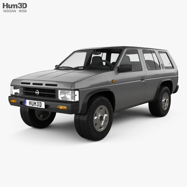 Nissan Terrano  Pathfinder  1993 3d Model